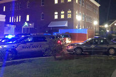 """<div class=""""source"""">Courtesy of Brad Derrick Shofner</div><div class=""""image-desc"""">Several cruisers were outside the Taylor County Detention Center early Tuesday morning in response to a riot. According to Taylor County Jailer Hack Marcum, the incident was brought under control after about 45 minutes.</div><div class=""""buy-pic""""></div>"""
