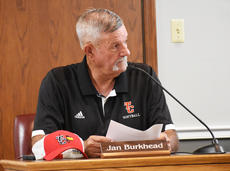 "<div class=""source"">Zac Oakes</div><div class=""image-desc"">Board Member Jan Burkhead cast the lone ""no"" vote on a proposal to raise the tax rate on real and personal property at the Taylor County Board of Education meeting on Monday.</div><div class=""buy-pic""><a href=""/photo_select/67717"">Buy this photo</a></div>"