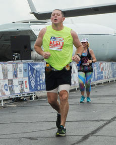 """<div class=""""source""""></div><div class=""""image-desc"""">On Sept. 17, 2016, I ran the U.S. Air Force Marathon at Wright-Patterson Air Force Base in Dayton, Ohio. It was a grueling experience, but one I treasure. At first, I said I'd never do it again. Now, I'm training for my second marathon in the fall of 2017.</div><div class=""""buy-pic""""></div>"""