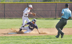 "<div class=""source"">Josh Claywell</div><div class=""image-desc"">Campbellsville's John Orberson slides into second base after hitting a double against Louisville Holy Cross on Friday.</div><div class=""buy-pic""><a href=""/photo_select/66873"">Buy this photo</a></div>"