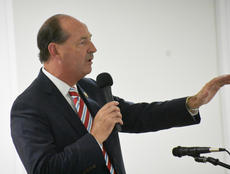 """<div class=""""source"""">Photo/Zac Oakes</div><div class=""""image-desc"""">House Democrat Leader (and potential Governor candidate) Rocky Adkins speaks at a Taylor County Democratic Women's event.</div><div class=""""buy-pic""""><a href=""""/photo_select/67350"""">Buy this photo</a></div>"""