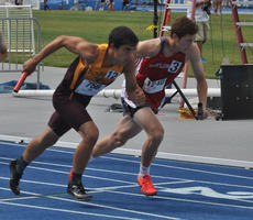 "<div class=""source"">photo/JOSH CLAYWELL</div><div class=""image-desc"">Taylor County's Will Miller runs the first leg of the boys' 4x800-meter relay Friday during the Class 2-A KHSAA State Track & Field Championships.</div><div class=""buy-pic""><a href=""/photo_select/67027"">Buy this photo</a></div>"