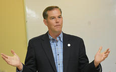"<div class=""source"">Zac Oakes</div><div class=""image-desc"">State Sen. Max Wise (R-Campbellsville) addressed syringe exchange programs and the opioid epidemic recently. </div><div class=""buy-pic""><a href=""/photo_select/66078"">Buy this photo</a></div>"