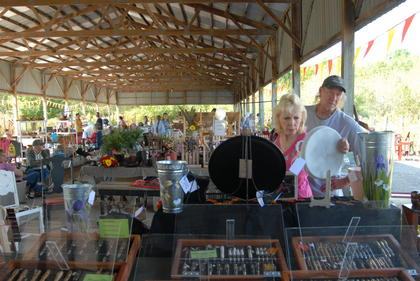 More than 1,500 people attended the fall festival at The Homeplace on Green River on Saturday, Sept. 10.