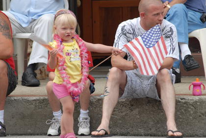 Fourth of July parade