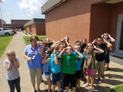 Submitted from the Facebook profile of Lori Phyfe  Mrs. Pam Quinn's class at Taylor County Intermediate.