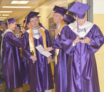 Campbellsville High School seniors graduated on Saturday, May 19, in a ceremony at Hamilton Auditorium.