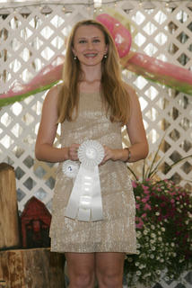 Alexandra Zimmerman won third place in the Coca Cola talent contest.