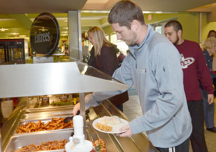 Campbellsville University students, faculty, staff, alumni and friends gathered for a breakfast to kick off Homecoming activities on Saturday morning.