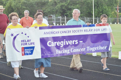 Caregivers are honored with their own lap.