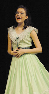 """Before """"SeussOdyssey,"""" TCHS drama students performed monologues. Here, Tiffany Lawson performs the entire """"Gone with the Wind"""" story in five minutes."""