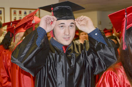 Taylor County High School seniors graduated on Friday, May 18, in a ceremony at the TCHS gymnasium.