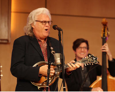 Bluegrass legend Ricky Skaggs and his band, Kentucky Thunder, performed on the campus of Campbellsville University Thursday, Oct. 13. The concert was a fundraising event for the university, and it brought more than $25,000, which will go toward the university's scholarship fund.