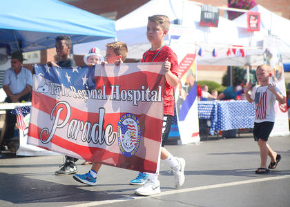 Taylor Regional Hospital was the sponsor of the 2018 Fourth of July parade.