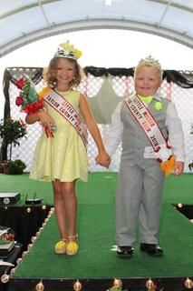 The 2018 Little Miss and Mister Taylor County Fair are Westin Whitley and Kelly Maynard.