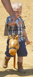 The youth horse show on Saturday featured many local children.